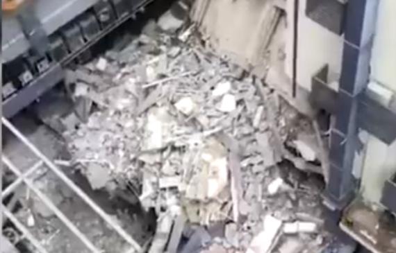 酒店大楼坍塌之热泵热水器不可漏【超钜微检】